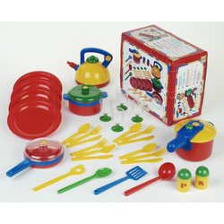 Klein Kinder-Küchenset Emma's Kitchen Topfset groß, Made in Germany