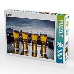Aprés-Bier ... Lege-Größe 64 x 48 cm Foto-Puzzle Bild von Mark Krahe Puzzle