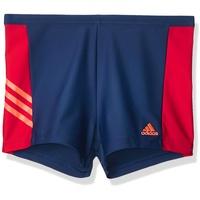 adidas Herren Fitness 3Second Shorts, Tecind/Scarle/Apsord, 6