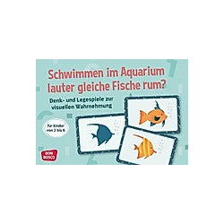 Schwimmen im Aquarium lauter gleiche Fische rum?. Angela Gully  - Buch