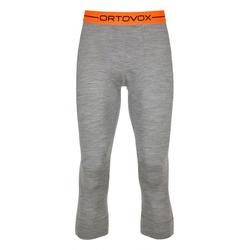 ORTOVOX MERINO 185 ROCK N WOOL SHORT Hose 2021 grey blend - XL
