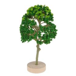 HobbyFun Dekofigur Baum, 6,5 cm x 12 cm grün