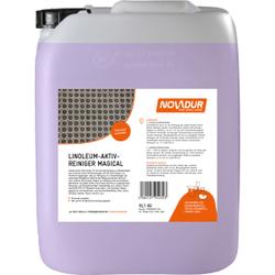 NOVADUR Linoleum Aktivreiniger Magical, Ideal zur Reinigung von Linoleumbelägen, 10 l - Kanister