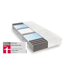 Matratzen Concord Komfortschaummatratze BeCo Vision Top 100x200 cm H3 - fest bis 100 kg 22 cm hoch
