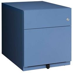 BISLEY Note Rollcontainer blau 2 Auszüge