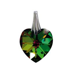 Adelia´s Amulett, Kristallherz Reflektierendes Grün