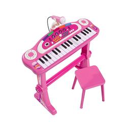 SIMBA Spielzeug-Musikinstrument Keyboard mit Stuhl, pink
