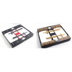 Sushi-Set Tischset Tischgeschirrset für 2 Personen (Schwarz oder Braun)