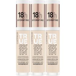 Catrice Concealer True Skin High Cover Concealer, 3-tlg. braun