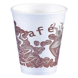 50 PAPSTAR Einweg-Kaffeebecher Kunststoff
