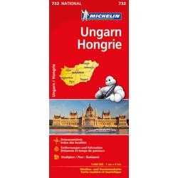 Michelin Ungarn 1 : 400 000
