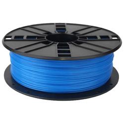 WhiteBOX 3D-Filament  PLA blau phosphoreszierend 1.75mm 1000g Spule