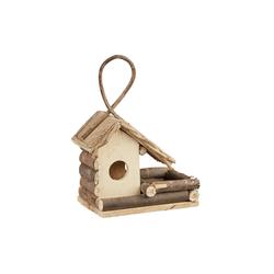 relaxdays Vogelhaus Dekoratives Vogelhaus zum Aufhängen