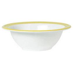 Schale 14 cm, Inhalt 22 cl Bistro - weiss/gelb