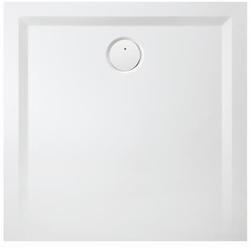 Hoesch Mineralguss-Duschwanne MUNA 700 x 700 x 30 mm weiß