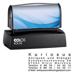 COLOP Textstempel, individualisierbar EOS 50