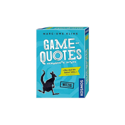 Kosmos Spiel, Game of Quotes