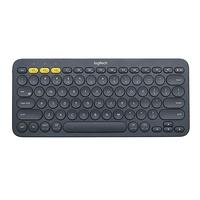 Logitech K380 Bluetooth Multi-Device Tastatur IT schwarz (920-007574)