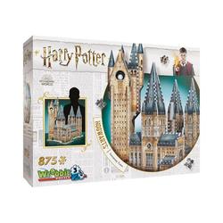 Wrebbit 3D-Puzzle Wrebbit 3D Puzzle 875 Teile Harry Potter Hogwarts, Puzzleteile
