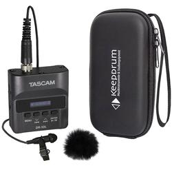 Tascam Mikrofon Tascam DR-10L Recorder+Mikrofon+Windschutz+Bag