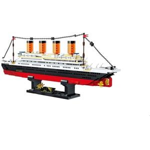 BlueBrixx QL0958 Marke ZHE GAO – Titanic aus Klemmbausteinen mit 1202 Bauelementen. Kompatibel mit Lego. Lieferung in Originalverpackung.