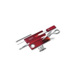 Victorinox Multifunktionswerkzeug SwissCard Lite rot