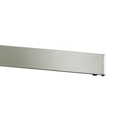 Gardinenstange Vorhangschiene edelstahl-optik 170 cm, GARDINIA
