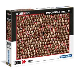 Clementoni® Puzzle Impossible Collection - Das Haus des Geldes, 1000 Puzzleteile, Made in Europe