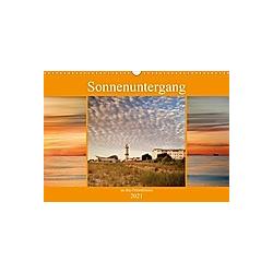 Sonnenuntergang an der Ostsee (Wandkalender 2021 DIN A3 quer)