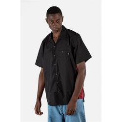 Hemd REELL - Bowling Shirt Black/Red (120) Größe: M