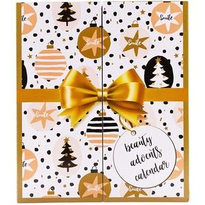 GOLDEN BOOK Adventskalender mit MakeUp - Kosmetik Weihnachtskalender zum Aufklappen - Adventskalender für Frauen