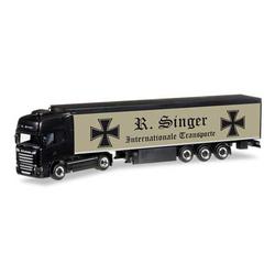Herpa 305501 Scania R 13 TL Schubboden-Sattelzug Roland Singer 1:87