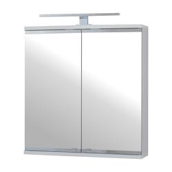 Szafka łazienkowa Eviela dwudrzwiowa 60 cm z oświetleniem LED