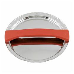 Fissler Topfdeckel Magic Line Metalldeckel Rot 24 cm rot