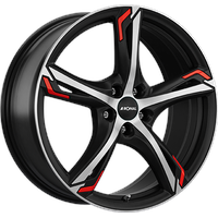 Ronal R62 Red 7.5x18 ET35 MB76,0