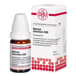 NATRIUM CHLORATUM D 30 Globuli 10 g