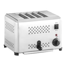 Royal Catering Gastronomie Toaster mit 4 Schlitzen RCET-4.1