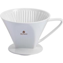 WESTMARK Brasilia Kaffeefilter 4 Tassen, Für frisch aufgebrühten, besonders aromatischen Kaffee, 1 Stück