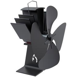 Ventilator, für Kaminofen, 66481101-0 schwarz schwarz