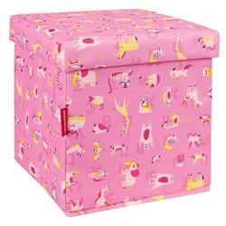 Aufbewahrungshocker Sitzhocker 18 Liter -  | Pink