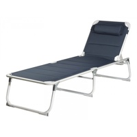 Campart Campingliege Travel navy (BE-0637)