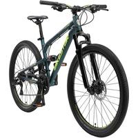 BIKESTAR Fahrrad Hardtail 27.5 Zoll Alu MTB Grün