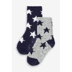 Next Socken Flauschige Socken, 2er-Pack 23-26