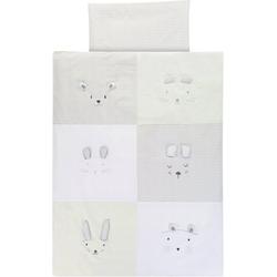 Bettwäsche Kinderbettwäsche Faces, 100 x 135 cm, Alvi®