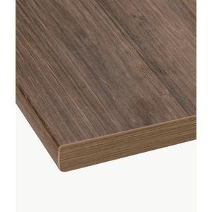 wiho Küchen Arbeitsplatte Flexi, 38 mm stark braun 150 cm x 3,8 cm x 60 cm