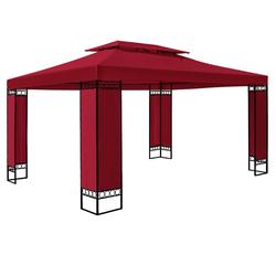 Deuba Pavillon Elda, wetterfest rot