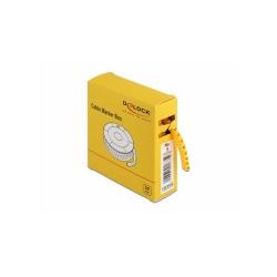 Delock Kabelmarker Box Nr 5 gelb 500 Stück Kabelmarkierung (18359)