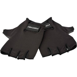 Fischer Fahrrad 86307 Handschuhe Schwarz kurz L