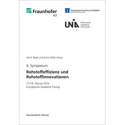 Rohstoffeffizienz und Rohstoffinnovationen 4 als Buch von