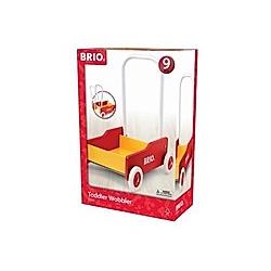 BRIO Lauflernwagen  rot/gelb